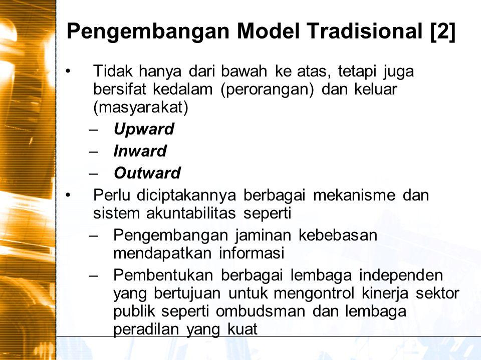 Pengembangan Model Tradisional [2]